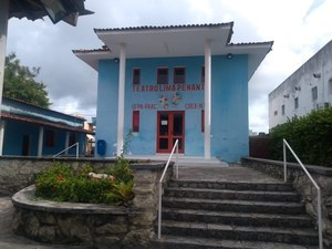 Teatro Lima Penante, NTU / PROEX / UFPB. Imagem: Edílson Alves (2021).