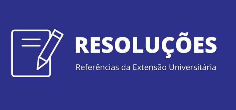 Resoluções da Extensão UFPB