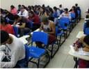 Sala de aula do Cursinho Pré-ENEM do Campus III _Imagem cedida pelo projeto