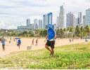 Coleta de resíduos nas praias de João Pessoa_Imagem cedida pela equipe (2021)
