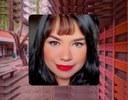 Assessora do CCHLA, Pollyanna Oliveira. Foto: Arquivo pessoal. Montagem com foto do CCHLA (Angélica Gouveia))