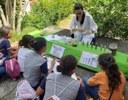 Ação educativa realizada pelo projeto em 2019, na Semana Nacional de Ciência e Tecnologia, no Campus II da UFPB - Areia. Imagem cedida pela equipe.